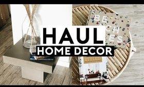 NEW APARTMENT DECOR HAUL! BUDGET FRIENDLY HOME DECOR 2019