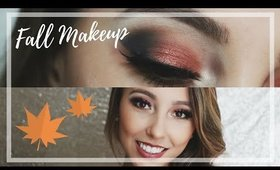 FALL MAKEUP LOOK! Full Glam | Chloe Madison