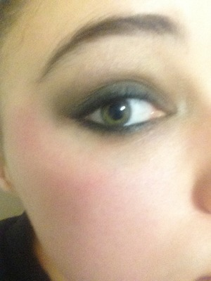 I finally got the smokey eye right! I'm so happy! It was my New Years resolution to nail this technique! And to use more color but I'm still working in that part!