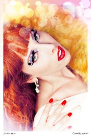 Photographer : Mimiko Kaiwaii Model : Scarlett River Make-up : Me