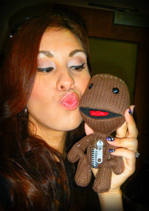My son asked me to babysit his sackboy while he goes to school :)
