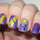 Lump Off! Lumpy Space Princess Nails