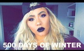 Black Lips Makeup | Ashelinaa