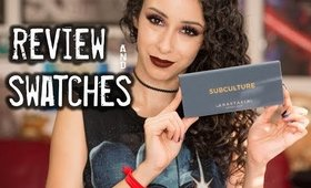 Anastasia Beverly Hills Subculture Review and Swatches