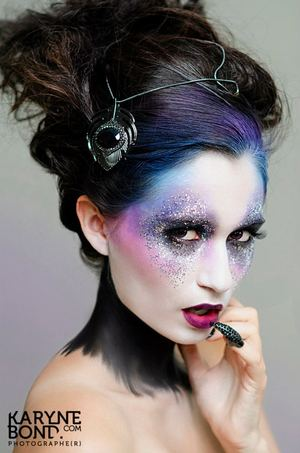 Éditorial shoot. Makeup by me