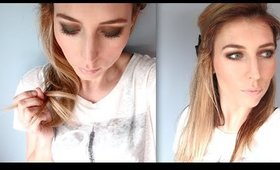 Olivia Wilde inspired Green smokey eye tutorial | Awomansaffair