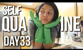 Self Quarantined Day 33 Vlog : She Left her Kids