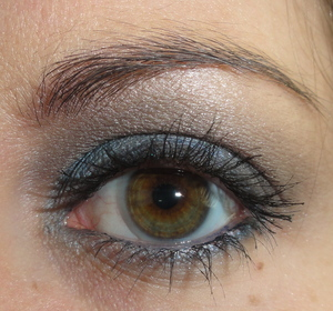 Blueish Silver Makeup of the Day
