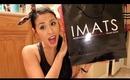 IMATS HAUL!  Velour Lashes, Gorgeous Cosmetics, Sigma, Crown & more! Pasadena 2012