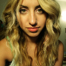 Beachy waves, almost ombre.