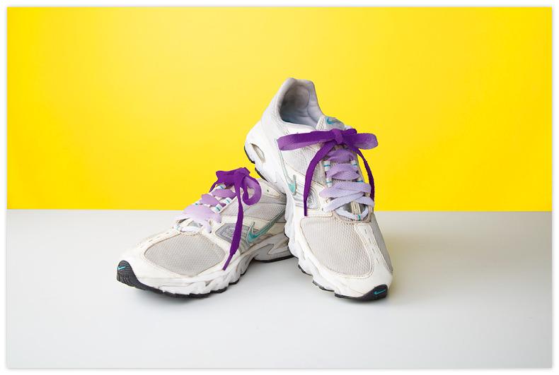 DIY Shoelaces Ready-To-Dye