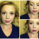 Practice Bridal Makeup