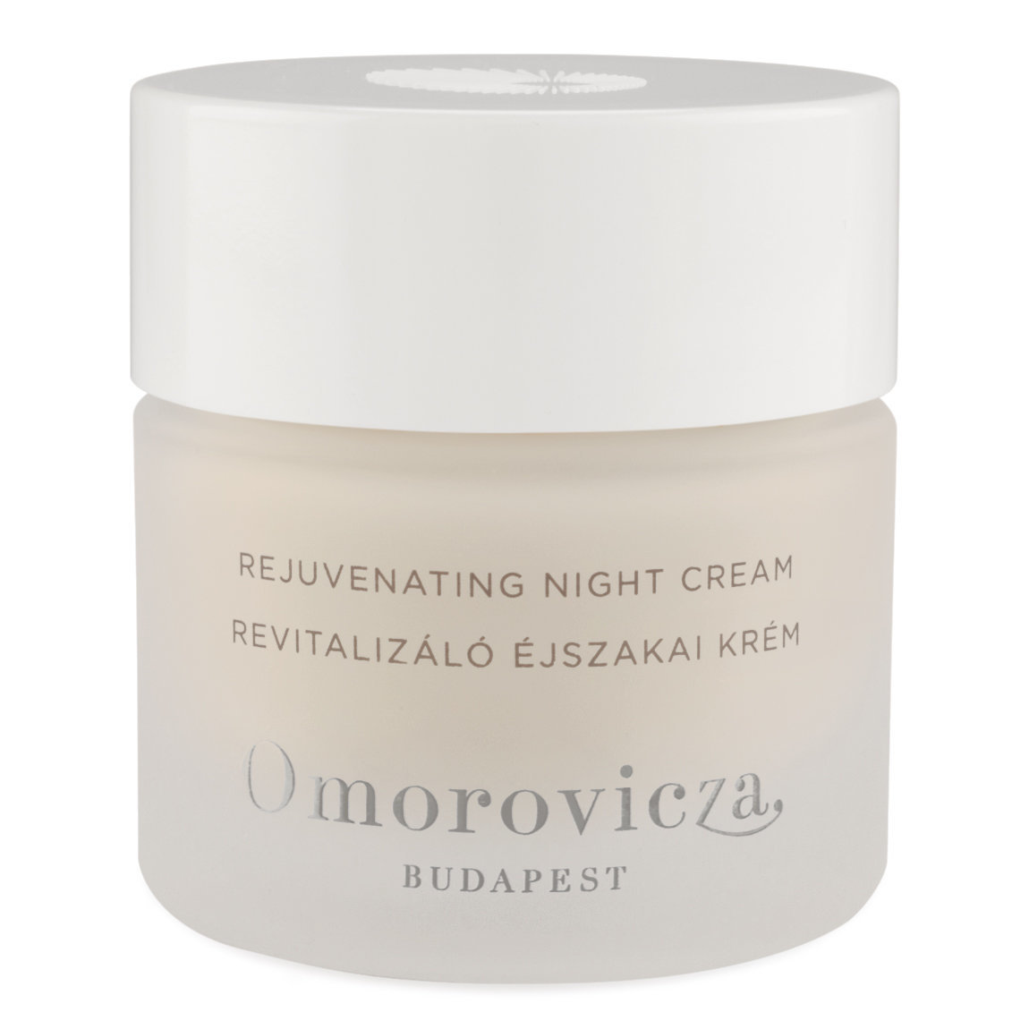 Omorovicza Rejuvenating Night Cream product smear.