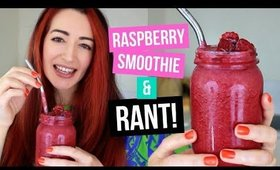 My Budget Vegan Smoothie Recipe & Social Media RANT!