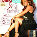 My cover with Rolling Out Magazine with Kandi Burruss