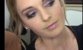 Brown and purple eye tutorial