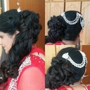 Wedding Hairstyle Side updo