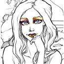 Rally Girl Makeup Purple and Gold