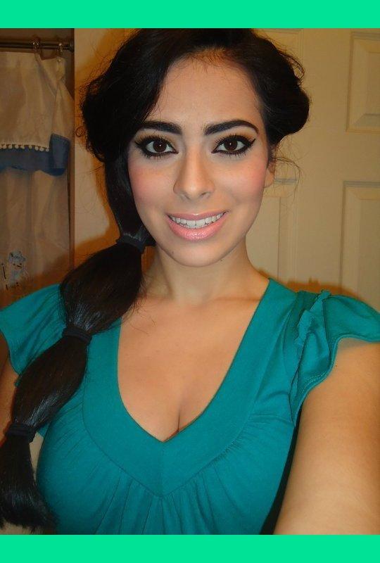 Princess Jasmine Inspired Make Up