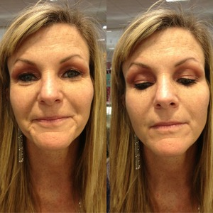 Eye Demonstration with Spring colors