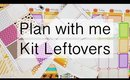 Kit Leftovers - Halloween Plan with me in the Erin Condren