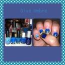 Blue ombré