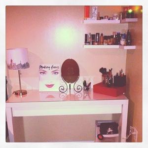 my makeup station