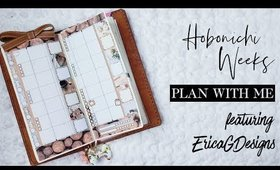 Hobonchi Weeks | Plan with Me feat. Erica G Designs