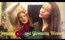 January Q&A and Giveaway Winner!