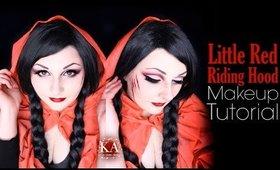 Little Red Riding Hood Halloween Makeup Tutorial - 31 Days of Halloween