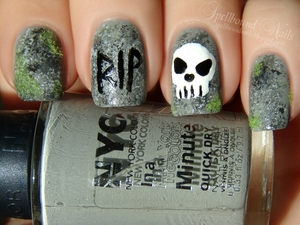 Done for an ABC Challenge http://spellboundnails.blogspot.com/2012/10/g-is-for.html
