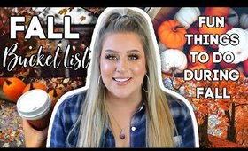 FALL BUCKET LIST | 5 Fun Things to do during Fall 2019