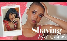 so I shaved my head...again 👩🏾‍🦲 | 2 year buzzcut update