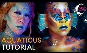 NYX COSMETICS FACE AWARDS 2019 ENTRY | Aquaticus | Makeup Tutorial