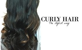 CURLY HAIR: The stylist way