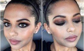 Universal Sultry Brown Smokey Eye | Makeup Tutorial