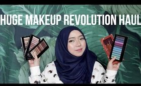 Huge Makeup Revolution Haul | Hazimah Syahindah