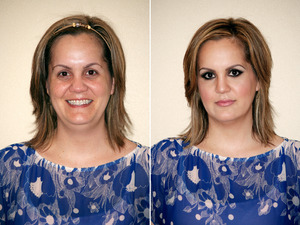 Makeup Transformation by me.