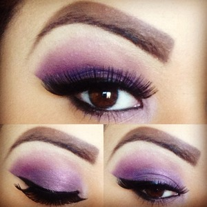 💜💜 #motd #eotd #makeup #maccosmetics #bhcosmetics #purpleeye #ilovemakeup #makeupaddict #pigments💜💜