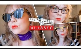Movie Star? Work Horse? Trying on Affordable Glasses!