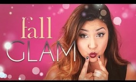 Fall Makeup Tutorial - Bolds Lips and Glam Eyes