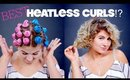 BEST or WORST Heatless Curls?! | Milabu