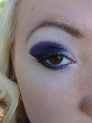 Intense Purples and Black Wing