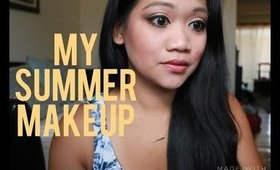 My Summer Makeup   Using Current Favorite Products