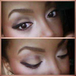 An up close of my eyes! #WingedEye #Eyebrows #Eyes  Follow me on Twitter: @BMynroe, IG: bmynroe, and Pinterset: bmynroe. See you soon! xoxo
