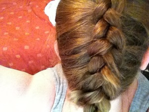Inside out French plait xxx 🎀