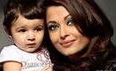 aishwarya rai with her baby aaradhya pics and face video