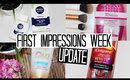 First Impressions Week Update - Teeth Whitening, Primers & In Shower Self Tans!