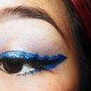 Jagged Eyeliner
