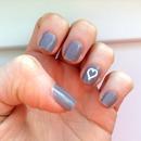 Nail Art - Chinchilly Heart